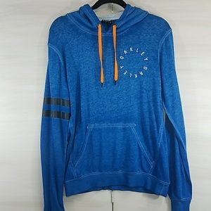 Oakley Blue and Orange hoodie